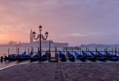 Венеция Италия Сан-Джорджо лодки