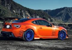 1920x1080, Оранжевая спортивная машина обои