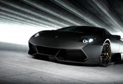 2560x1440, Черная спортивная машина обои