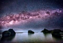 2560x1600, Странный космос на берегу