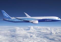 Авиалайнер Боинг 787 обои
