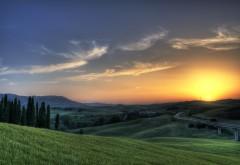 Закат в Таскании