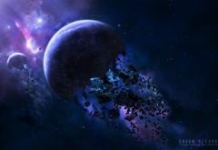 Космические астероиды на рабочий стол картинки