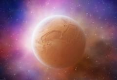 Широкоформатные обои планеты в космосе hd