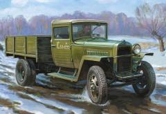 Автомобиль ГАЗ нарисованный