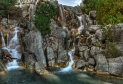 2560x1600, Прекрасный шумный водопад