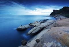Побережье Тайвань скал картинки море