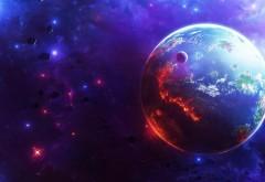Космос, планета, звезды, заставки