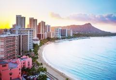 Пляж на Гавайх заставки