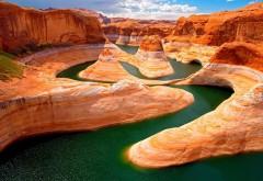 2560x1600, Большой оранжевый каньон обои