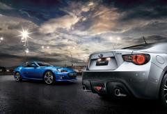 Subaru brz заставки автомобиля