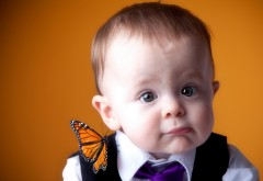 Прикольный ребенок фото
