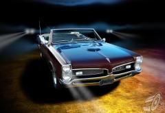 Изящный автомобиль Pontiac Gto