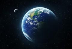 Голубая планета космос обои