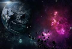 Космический пейзаж обои