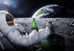 Юморестический вариант полета на луну