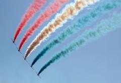 Флаг из дыма самолетов картинки