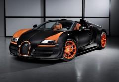 Bugatti Veyron спорт кар заставки