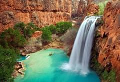 Аризона водопад заставки на рабочий стол