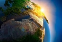 Вид из космоса на Землю