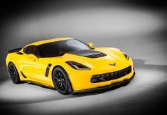 2015 chevrolet corvette z06 желтый автомобиль заставки