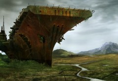 Апокалипсис концепт корабль фэнтези картинки