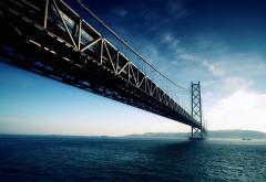 Акаси-Кайкё мост Япония картинки на рабочий стол