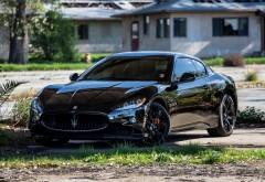 Maserati черный автомобиль заставки на комп