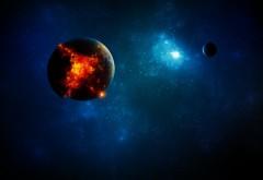 Космос, планета, 3Д, фоны, картинки, 3D