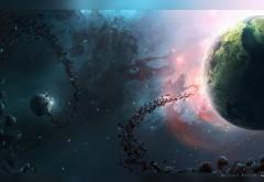 Скачать бесплатно живые обои космос