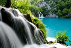Plitvice lakes national park waterfall wallpapers high resolution