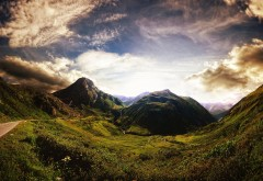 Old mountains sky wallpapers high resolution