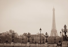 Paris tour eiffel bridge wallpapers high resolution