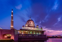Malaysia purple sunset wallpapers high resolution hd