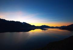 Озеро в горах заставки