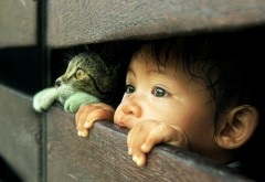 Ребенок милые обои скачать