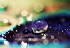 Макро заставки капель дождя скачать обои