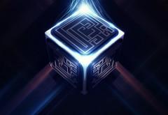 Энергетический куб абстрактные картинки на рабочий ст…