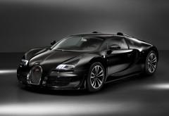 Bugatti Veyron Grand Sport черный заставки