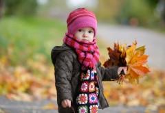 Девочка осенью картинки