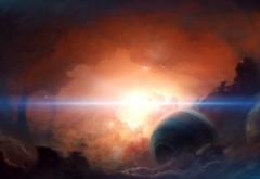 Широкоформатные картинки космоса скачать