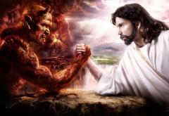Дьявол против Бога, добро против зла, фэнтези картинки,…