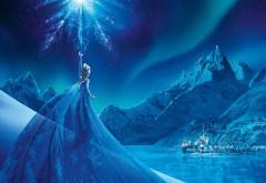 Холодное сердце, мультфильм, королева Эльза, фэнтези