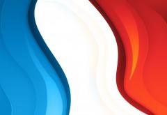 Французский, триколор, флаг