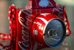 Брендовый фотик Кока-Кола обои