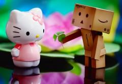 Я тебя люблю, романтические картинки, кити, любовь