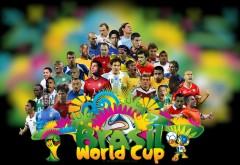 Бразилия ЧМ-2014 футбольные звезды обои hd