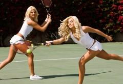 Сексуальные теннисистки девушки блондиночки