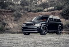 Автомобиль Land Rover Range Rover обои hd