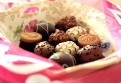 Шоколадные конфеты обои hd